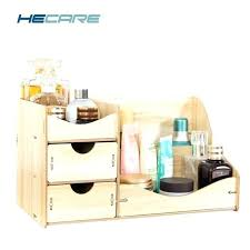 wood makeup organizer wooden cosmetic organizer new wooden cosmetic organizer home makeup organizer wood desktop storage