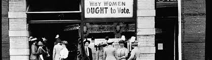 overview votes for women suffrage pictures  w suffrage headquarters in upper euclid avenue cleveland 1912
