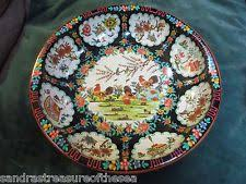 Daher Decorated Ware Tray Made In England Vintage Octagonal Metal Tray Rooster Scene Daher England 60 60 57
