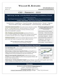 This CEO Resume won Best Executive Resume in CDI's Global TORI Competition