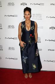 tamera mowry the 2016 make up artist hair stylist guild awards in los angeles