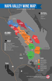 a simple guide to napa wine (map)  wine folly