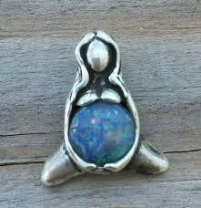 dess of abun pendant 925 sterling silver mother w genuine opal triplet from wellstone