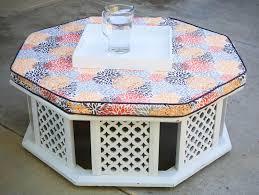 moroccan coffee table round