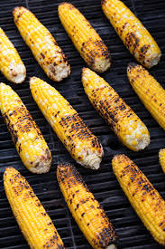 Drizzle with the olive oil and season with salt. Grilled Mexican Street Corn Elotes Cooking Classy