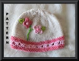 Newborn Knit Hat Pattern Amazing Inspiration Design