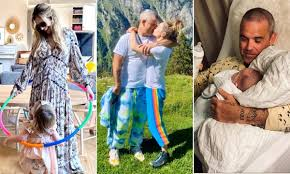 <b>Robbie Williams</b> and Ayda Field's 12 most adorable family moments ...
