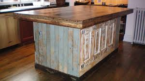kitchen island made out of old doors kitchen island made from reclaimed doors metal harvest kitchen island