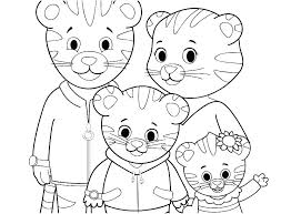 Printable Tiger Pictures Simple Daniel Tiger Printable Images