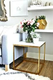 decorating end tables without lamps medium size of what to put on a coffee table images