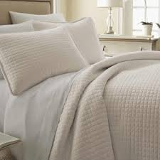 Modern Ivory & Cream Bedding Sets | AllModern & Savin Quilt Set Adamdwight.com