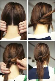 Hairstyle Easy Step By Step 15 cute and easy ponytail hairstyles tutorials popular haircuts 3458 by stevesalt.us