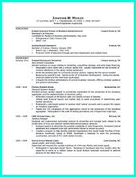 Internship Resume Sample For Collegedents Pdf With No Work
