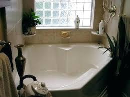 garden tubs with showers tub ideas bathroom do corner jets shower combo garden tub shower corner like the idea