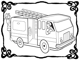 Free Fire Truck Coloring Pages Printable At Getdrawingscom Free