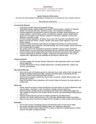 Best Market Research Project Manager Resume Market Research Resume