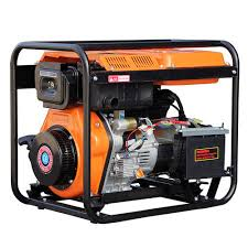 Open Frame Air Cooled Engine 25kw portable diesel generators for