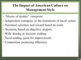 learning objectives the necessity for adapting to cultural  6 5 6 the impact of american