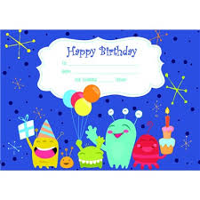 Happy Birthday Avery Buy The Avery Certificates Happy Birthday 36 Pack 69646 Online
