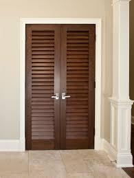 double louvered closet doors