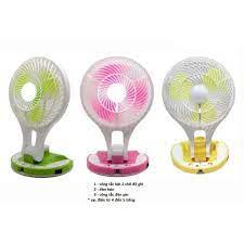 Quạt sạc tích điện 2 trong 1 gấp gọn Mini Fan M-5580