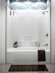 kohler tub surround shower wall units white bath walls one piece fiberglass shower units one piece
