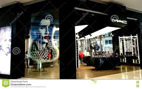 mac makeup store. editorial stock photo. download large mac makeup cosmetic outlet store mac