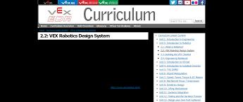 Edr Design 2 2 Vex Robotics Design System Vex Edr Curriculum