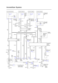 repair guides wiring diagrams wiring diagrams 61 of 103 immobilizer system electrical schematic 2005