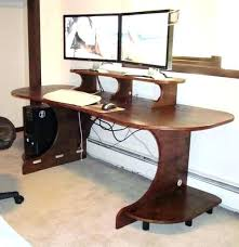 amazing computer desk small. Desk For Dual Monitors Small Monitor Computer Amazing Workstation Gaming All
