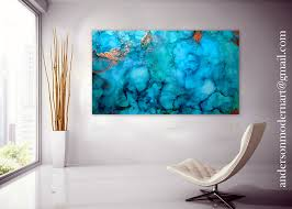 abstract canvas artwork fluid art