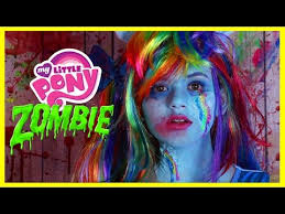 zombie my little pony rainbow dash makeup tutorial equestria doll cosplay kittiesmama lets learn makeup