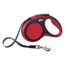 <b>Рулетка FLEXI New</b> Comfort S до 15 кг, лента 5 м, черный-красный