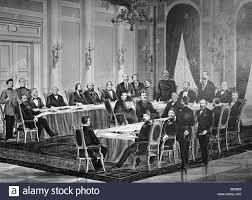 Una riproduzione del congresso di Berlino del 1878 Foto stock - Alamy