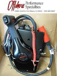 mercury marine side mount remote control box 881170a15 new