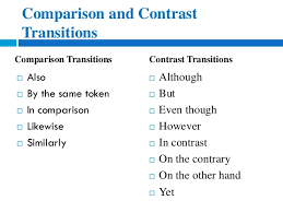 eng how to write compare and contrast essays comparison transitions contrast transitions 8