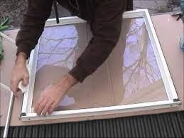 repair broken double pane vinyl window