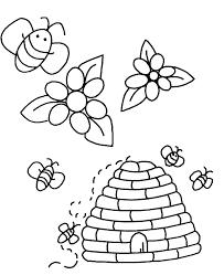 Coloriage Reine Des Abeilles Insectes