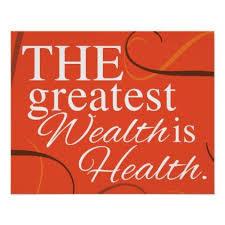 The Greatest Wealth Is Health Poster Zazzle Com Bikini