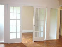interior sliding french doors internal double glass