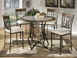 Ashley Furniture Kitchen Table And Chairs Buy Ashley Furniture Hopstand Round Counter Height Table Set