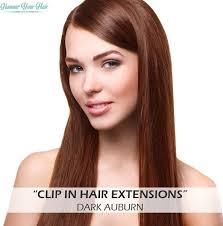 Bolcom Clip In Extensions 8 Banen 40 Cm Dark Auburn