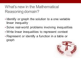 what s new in the mathematical reasoning domain