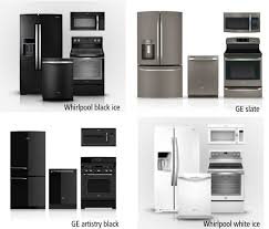 Awesome Black Ice Appliances In Whirlpool S White Appliance