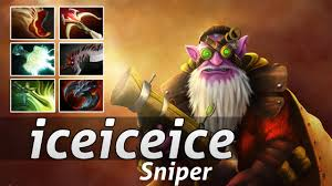 sniper pro build by iceiceice gameplay dota 2 epic moments youtube