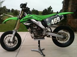 sold 2007 kx250f and supermoto wheels 2 500