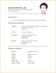 Curriculum Vitae Format New Curriculum Vitae Format Pdf India Lezincdc