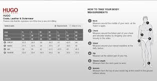 Hugo Boss Swim Shorts Size Chart Hugo Boss Size Chart