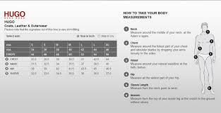 Hugo Boss Size Chart