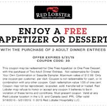Red Lobster Coupon March 2018 Foursome Plymouth Coupon